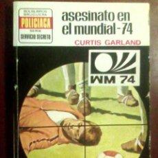 Cómics: CURTIS GARLAND - ASESINATO EN EL MUNDIAL-74 - SERVICIO SECRETO N.º 1249, 1974 (1.ª ED.). Lote 164972902