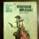 Cómics: FIDEL PRADO - PERSECUCIÓN IMPLACABLE - SERIE ASES DEL OESTE N.º 605, 1970. Lote 164982710