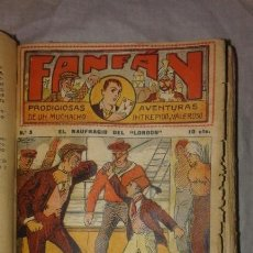 Cómics: FANFAN PRODIGIOSAS AVENTURAS DE UN MUCHACHO - AÑO 1920 - COMPLETO 40 NUMEROS.. Lote 165240682
