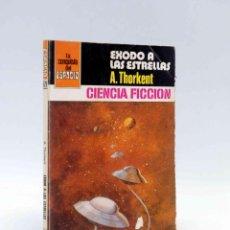 Cómics: LA CONQUISTA DEL ESPACIO 528. ÉXODO A LAS ESTRELLAS (A. THORKENT) BRUGUERA BOLSILIBROS, 1980. Lote 211824431