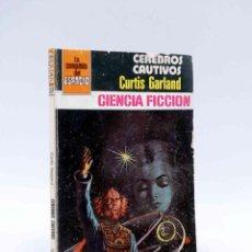 Cómics: LA CONQUISTA DEL ESPACIO 537. CEREBROS CAUTIVOS (CURTIS GARLAND) BRUGUERA BOLSILIBROS, 1980. Lote 211824446