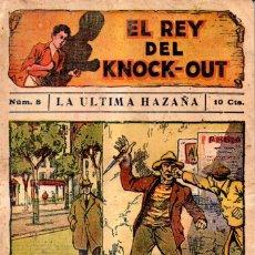 Cómics: EL REY DEL KNOCK OUT Nº 8 - LA ÚLTIMA HAZAÑA. Lote 167504128