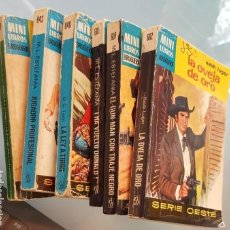 Cómics: 6 MINI LIBROS BRUGUERA (1969) NOVELAS M.L.ESTEFANIA, KEIT LUGUER,..REGALO DE UN MINI LIBRO, VER FOTO. Lote 168255288