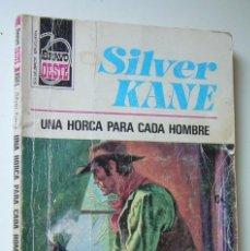 Cómics: UNA HORCA PARA CADA HOMBRE. SILVER KANE. COLECCION BRAVO OESTE Nº 769. ED. BRUGUERA, 1975 1ª EDICION. Lote 169796808