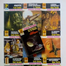 Cómics: LOTE DE 10 BOLSILIBROS - LA CONQUISTA DEL ESPACIO - EDITORIAL BRUGUERA - LOU CARRIGAN GARLAND, BERNA. Lote 170250876