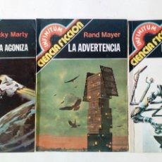 Cómics: LOTE DE 3 BOLSILIBROS - INFINITUM CIENCIA FICCION - PRODUCCIONES EDITORIALES - MARCUS SIDERIO, MARTY. Lote 170252736