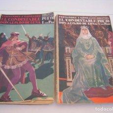 Cómics: EL CONDESTABLE DON ALVARO DE LUNA. Lote 171510778