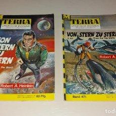 Cómics: CÓMICS/TEBEOS. TERRA UTOPISCHE ROMANE, SCIFI CIENCIA FICCIÓN ALEMÁN, ED MOEWIG. TIME FOR THE STARS. Lote 171741449
