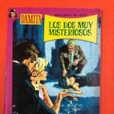 Cómics: LOS DOS MUY MISTERIOSOS - DAMITA - NOVELA GRAFICA ADULTOS. Lote 173963144