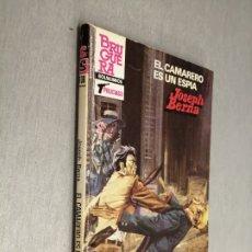 Comics : EL CAMARERO ES UN ESPÍA / JOSEPH BERNA / SERVICIO SECRETO Nº 1736 / BRUGUERA 1ª EDICIÓN 1983. Lote 174440868