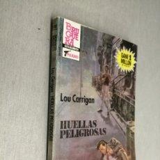 Cómics: HUELLAS PELIGROSAS / LOU CARRIGAN / SERVICIO SECRETO Nº 1792 / BRUGUERA 2ª EDICIÓN 1985. Lote 174570394