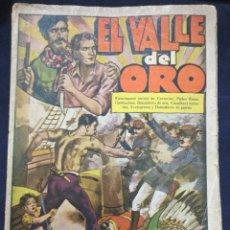 Cómics: EL VALLE DEL ORO - EDITORIAL EL GATO NEGRO 1933 - 13 COMICS. Lote 174898175