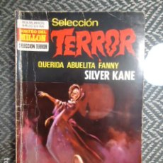 Cómics: BOLSILIBRO TERROR - SELECCION TERROR BRUGUERA Nº 18 QUERIDA ABUELITA FANNY - SILVER KANE. Lote 175445633