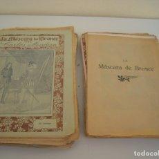 Cómics: LA MASCARA DE BRONCE CUADERNILLOS SUELTOS DEL 1 AL 32 OBRA COMPLETA. ILUSTRADO CON CROMO-LITOGRAFIAS. Lote 176002199