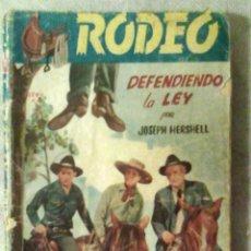 Cómics: COL. RODEO N.º 106 - DEFENDIENDO LA LEY - JOSEPH HERSHELL (ED. CIES, S.F., 1.ª ED.) / OESTE /. Lote 176724610