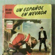 Cómics: COL. KANSAS N.º 38 - UN ESPAÑOL EN NEVADA - ORLAND GARR (BRUGUERA, 1959, 1.ª ED.) - ADRIAN HOVEN . Lote 176727413