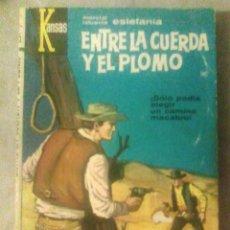 Fumetti: KANSAS N.º 255 - ENTRE LA CUERDA Y EL PLOMO - MARCIAL LAFUENTE ESTEFANÍA (BRUGUERA, 1963, 1.ª ED.). Lote 176834869