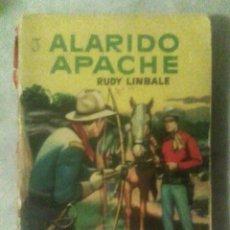 Cómics: COL. VAQUERO - ALARIDO APACHE - RUDY LINBALE - (BRUGUERA, ARGENTINA, 1958). Lote 176841808