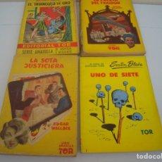 Cómics: LOTE DE CUATRO NOVELA TOR. Lote 176975242