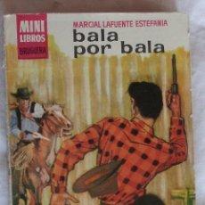 Comics : MINI LIBROS BRUGUERA SERIE OESTE Nº 73 BALA POR BALA MARCIAL LAFUENTE ESTEFANIA. Lote 183276540