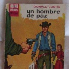 Comics : MINI LIBROS BRUGUERA SERIE OESTE Nº 75 UN HOMBRE DE PAZ . Lote 183276761