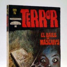 Cómics: NARRACIONES GÉMINIS DE TERROR 20. EL BAILE DE LAS MÁSCARAS (VVAA) GÉMINIS, 1969. Lote 184036957