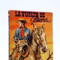 Cómics: DOS HOMBRES BUENOS 55. LA VUELTA DE GUTIÉRREZ (J. MALLORQUÍ) CID, 1958. Lote 184036966