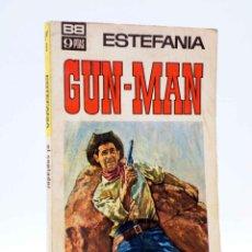 Cómics: GUN MAN 9. EL SOPLADOR (ESTEFANÍA) BRUGUERA BOLSILIBROS, 1967. Lote 184036967