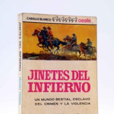 Cómics: CABALLO BLANCO OESTE. JINETES DEL INFIERNO (HOMER HATTEN) BRUGUERA, 1965. Lote 184036972