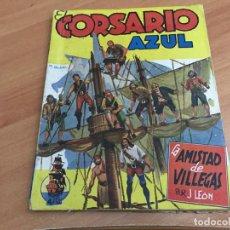 Cómics: EL CORSARIO AZUL Nº 12 LA AMISTAD DE VILLEGAS (ED. CLIPER) (COIB39). Lote 184042730