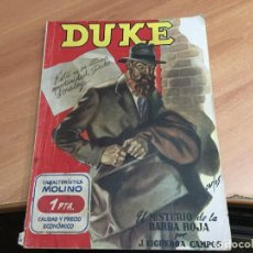 Cómics: DUKE Nº 9 EL MISTERIO DE LA BARBA ROJA . HOMBREAS AUDACES (COIB39). Lote 184052052