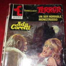 Cómics: NOVELA SELECCION TERROR NUMERO 491.UN SER HORRIBLE,MONSTRUOSO . Lote 189147992