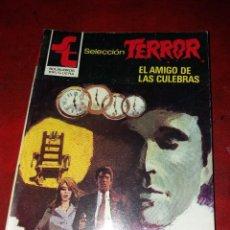 Cómics: NOVELA SELECCION TERROR NUMERO 512.EL AMIGO DE LAS CULEBRAS . Lote 189148678