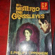 Cómics: NOVELA POLICIACA NUMERO 11.EL MISTERIO DE GRASSLEYES.1962. Lote 189150946