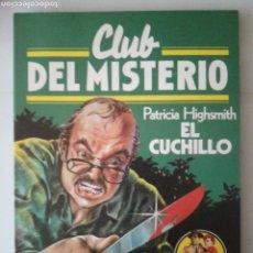 Cómics: CLUB DEL MISTERIO. 5. EL CUCHILLO. BRUGUERA 1981.. Lote 190507058