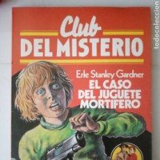 Cómics: CLUB DEL MISTERIO 6. EL CASO DEL JUGUETE MORTÍFERO. BRUGUERA 1981. Lote 190507146