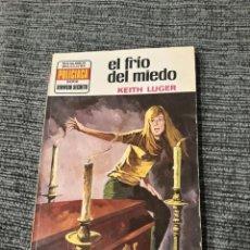 Cómics: BRUGUERA SERVICIO SECRETO # 1276 POLICIACA AÑO 1974 EL FRIO DEL MIEDO, KEITH LUGER. Lote 190649655