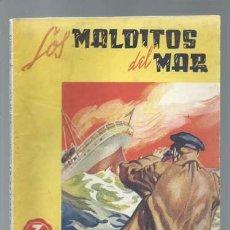 Cómics: LOS MALDITOS DEL MAR, EDITORIAL VIVES, BUEN ESTADO. COLECCIÓN A.T.. Lote 191665565