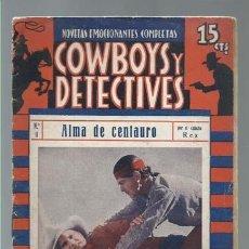 Cómics: COWBOYS Y DETECTIVES 11, BISTAGNE, BUEN ESTADO. COLECCIÓN A.T.. Lote 191665698