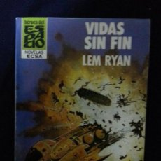 Cómics: VIDAS SIN FIN - LEM RYAN - HEROES DEL ESPACIO 133. Lote 191683601