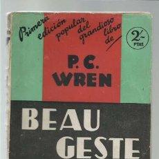 Cómics: BEAU GESTE, 1931, JUVENTUD, USADO. COLECCIÓN A.T.. Lote 191832577