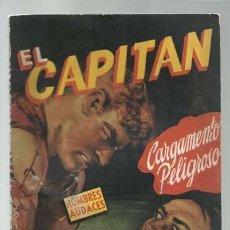 Cómics: COLECCIÓN HOMBRES AUDACES 312: EL CAPITÁN, 1947, MOLINO, BUEN ESTADO. COLECCIÓN A.T.. Lote 191833743