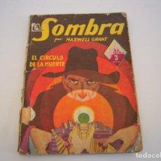 Cómics: LA SOMBRA EL CIRCULO DE LA MUERTE. Lote 193390912