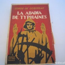 Cómics: LA ABADIA DE TYPHAINES. Lote 193680788