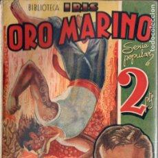 Cómics: HOEFER . ORO MARINO (IRIS BRUGUERA, C. 1940). Lote 193718025