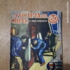 Cómics: SEXTON BLAKE. LA VÍCTIMA DEL CHINO. JOHN G. BRANDON. Nº 65, FEBRERO 1935. Lote 194231738