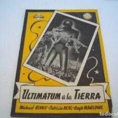 Fumetti: ULTIMATUM A LA TIERRA. Lote 194348433