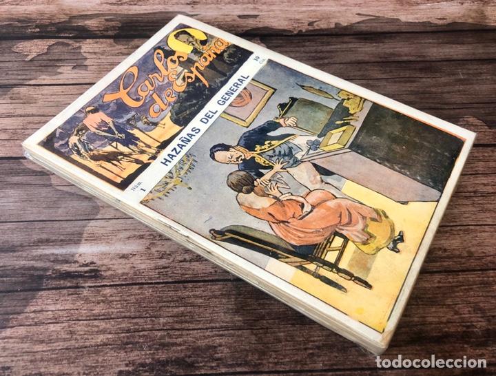 CARLOS DE ESPAÑA -HISTORIA DE UN GENERAL.¡COMPLETA!. (Tebeos, Comics y Pulp - Pulp)