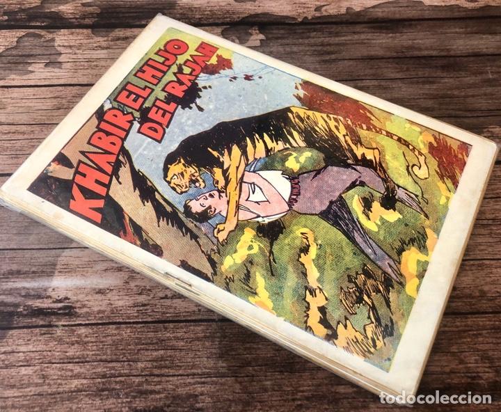 KHABIR EL HIJO DE RAJAH,¡COMPLETA!. (Tebeos, Comics y Pulp - Pulp)