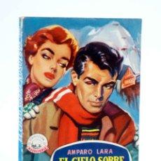 Cómics: COLECCIÓN MADREPERLA 338. EL CIELO SOBRE NOSOTROS (AMPARO LARA) 1955. CON DEDICATORIA. Lote 194707692